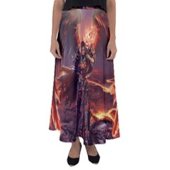Fantasy Art Fire Heroes Heroes Of Might And Magic Heroes Of Might And Magic Vi Knights Magic Repost Flared Maxi Skirt