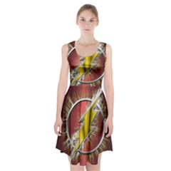 Flash Flashy Logo Racerback Midi Dress