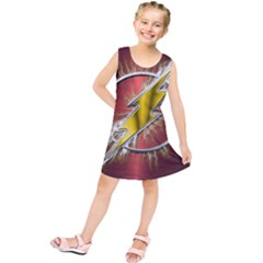 Flash Flashy Logo Kids  Tunic Dress
