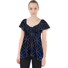 Flower Of Life Lace Front Dolly Top