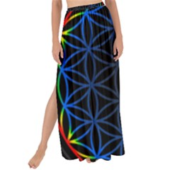 Flower Of Life Maxi Chiffon Tie Up Sarong