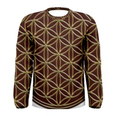 Flower Of Life Men s Long Sleeve Tee