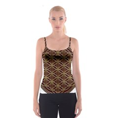 Flower Of Life Spaghetti Strap Top