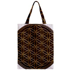 Flower Of Life Zipper Classic Tote Bag