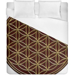 Flower Of Life Duvet Cover (california King Size)