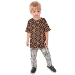 Flower Of Life Kids Raglan Tee