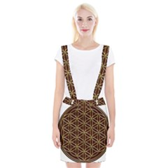 Flower Of Life Braces Suspender Skirt