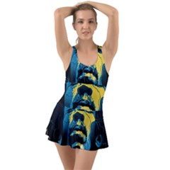 Gabz Jimi Hendrix Voodoo Child Poster Release From Dark Hall Mansion Swimsuit by Samandel