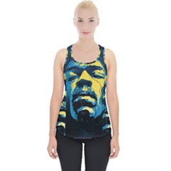 Gabz Jimi Hendrix Voodoo Child Poster Release From Dark Hall Mansion Piece Up Tank Top by Samandel
