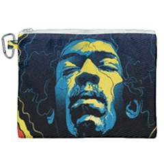 Gabz Jimi Hendrix Voodoo Child Poster Release From Dark Hall Mansion Canvas Cosmetic Bag (xxl) by Samandel