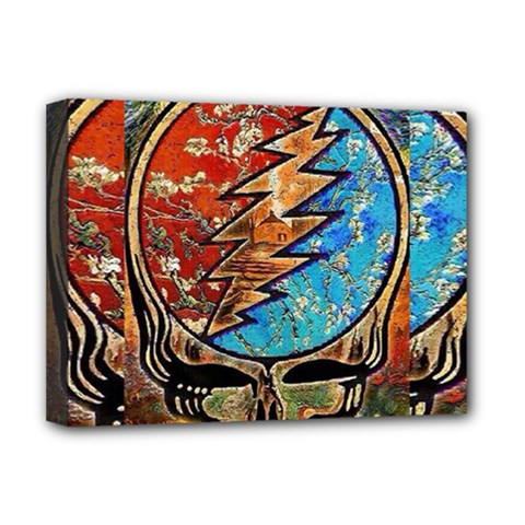Grateful Dead Rock Band Deluxe Canvas 16  X 12