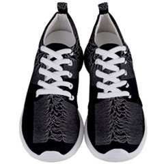 Grayscale Joy Division Graph Unknown Pleasures Men s Lightweight Sports Shoes