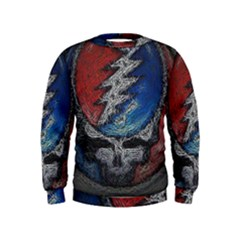 Grateful Dead Logo Kids  Sweatshirt