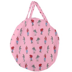 Hotline Bling Pattern Giant Round Zipper Tote by Samandel