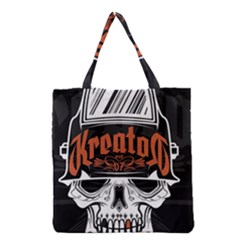 Kreator Thrash Metal Heavy Hard Rock Skull Skulls Grocery Tote Bag