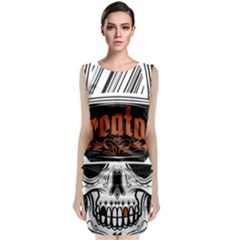 Kreator Thrash Metal Heavy Hard Rock Skull Skulls Classic Sleeveless Midi Dress