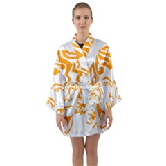 The King Of Pop Long Sleeve Kimono Robe