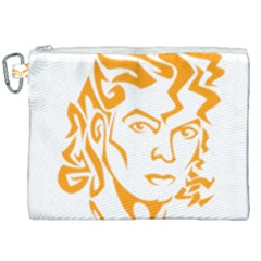 The King Of Pop Canvas Cosmetic Bag (xxl)