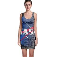 Nasa Logo Bodycon Dress