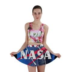 Nasa Logo Mini Skirt