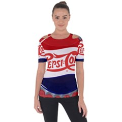Pepsi Cola Cap Short Sleeve Top