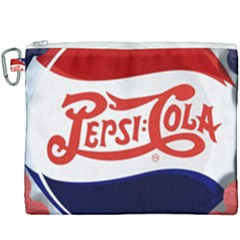 Pepsi Cola Cap Canvas Cosmetic Bag (xxxl) by Samandel