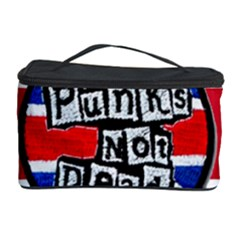 Punk Not Dead Music Rock Uk United Kingdom Flag Cosmetic Storage Case