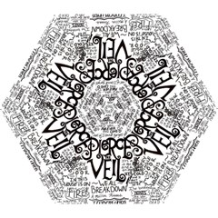 Pierce The Veil Music Band Group Fabric Art Cloth Poster Mini Folding Umbrellas by Samandel