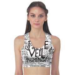 Pierce The Veil Music Band Group Fabric Art Cloth Poster Sports Bra by Samandel