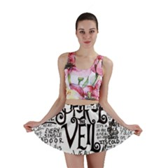 Pierce The Veil Music Band Group Fabric Art Cloth Poster Mini Skirt by Samandel