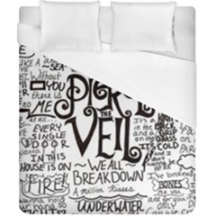 Pierce The Veil Music Band Group Fabric Art Cloth Poster Duvet Cover (california King Size) by Samandel