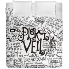 Pierce The Veil Music Band Group Fabric Art Cloth Poster Duvet Cover Double Side (california King Size) by Samandel