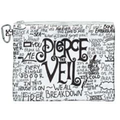 Pierce The Veil Music Band Group Fabric Art Cloth Poster Canvas Cosmetic Bag (xxl)