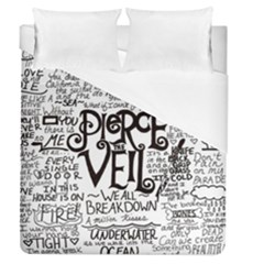 Pierce The Veil Music Band Group Fabric Art Cloth Poster Duvet Cover (queen Size) by Samandel