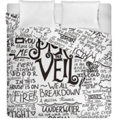 Pierce The Veil Music Band Group Fabric Art Cloth Poster Duvet Cover Double Side (king Size) by Samandel