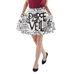 Pierce The Veil Music Band Group Fabric Art Cloth Poster A Line Pocket Skirt by Samandel