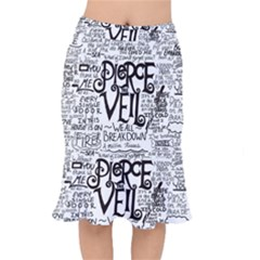 Pierce The Veil Music Band Group Fabric Art Cloth Poster Mermaid Skirt