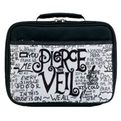 Pierce The Veil Music Band Group Fabric Art Cloth Poster Lunch Bag