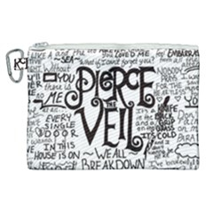 Pierce The Veil Music Band Group Fabric Art Cloth Poster Canvas Cosmetic Bag (xl)