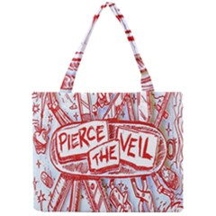 Pierce The Veil  Misadventures Album Cover Mini Tote Bag by Samandel