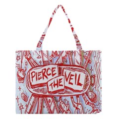 Pierce The Veil  Misadventures Album Cover Medium Tote Bag by Samandel