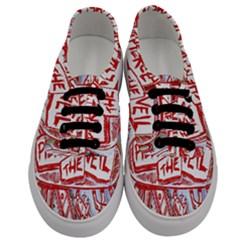 Pierce The Veil  Misadventures Album Cover Men s Classic Low Top Sneakers