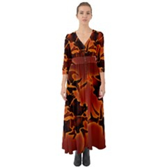 Sepultura Heavy Metal Hard Rock Bands Button Up Boho Maxi Dress