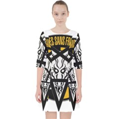 Satanic Warmaster Black Metal Heavy Dark Occult Pentagran Satan Pocket Dress