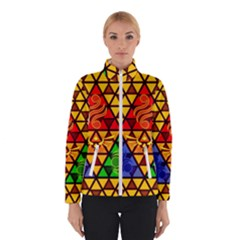 The Triforce Stained Glass Winterwear