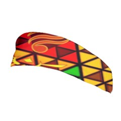 The Triforce Stained Glass Stretchable Headband