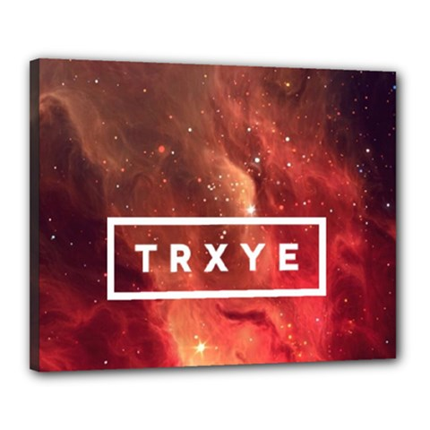 Trxye Galaxy Nebula Canvas 20  X 16
