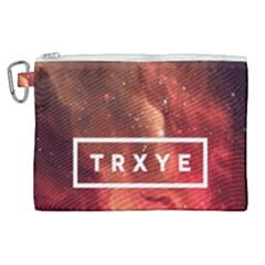 Trxye Galaxy Nebula Canvas Cosmetic Bag (xl)