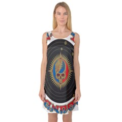 The Grateful Dead Sleeveless Satin Nightdress