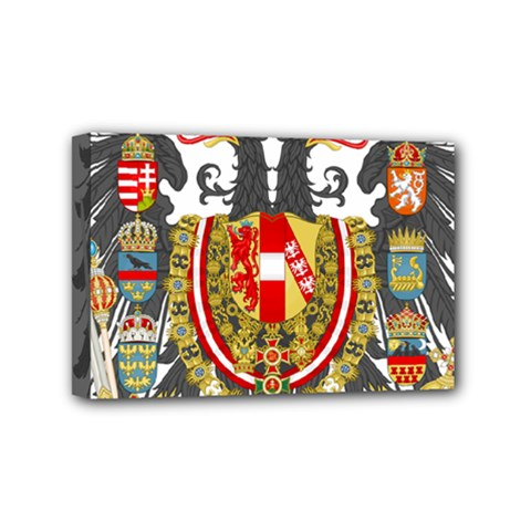Imperial Coat Of Arms Of Austria Hungary  Mini Canvas 6  X 4
